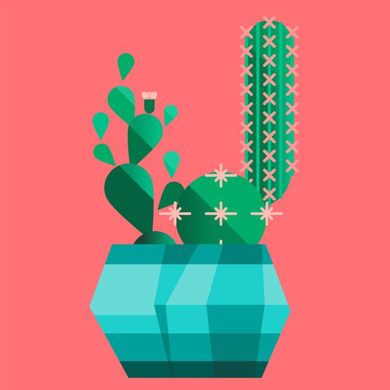 'The Cacti Club' Art Prints