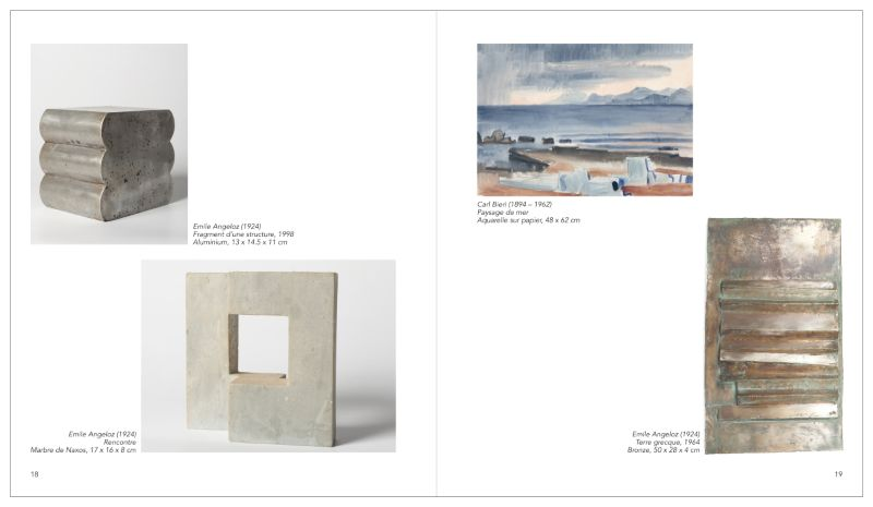 Book for an art gallery