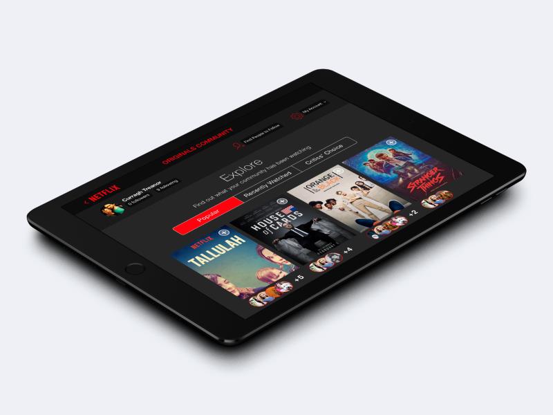 Netflix Originals Community
