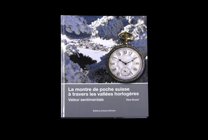 Book about the Swiss pocket watch