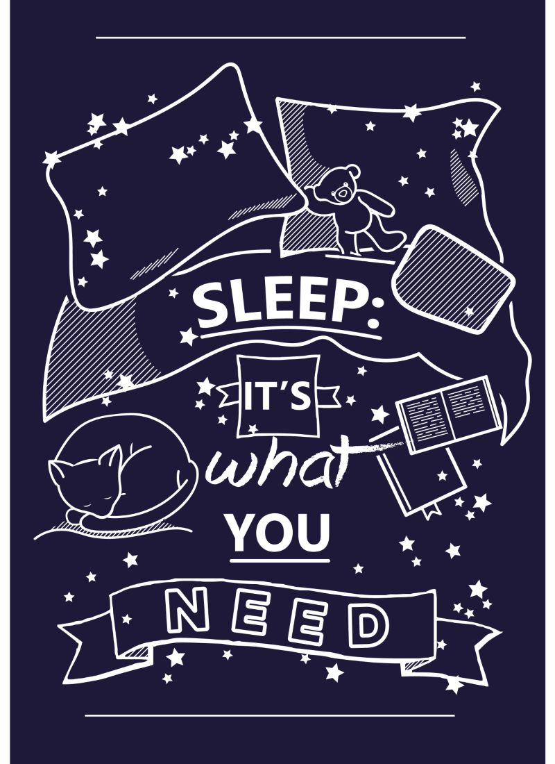 Poster - Sleep: It's what you need