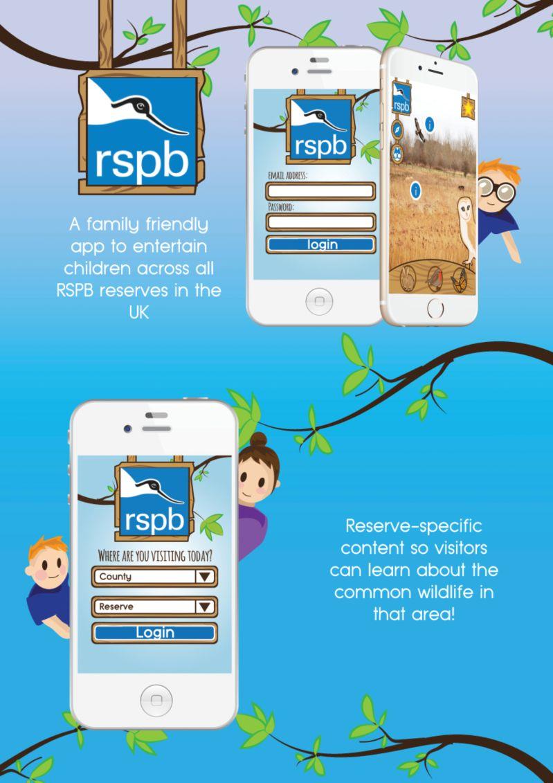 RSPB App (Concept)