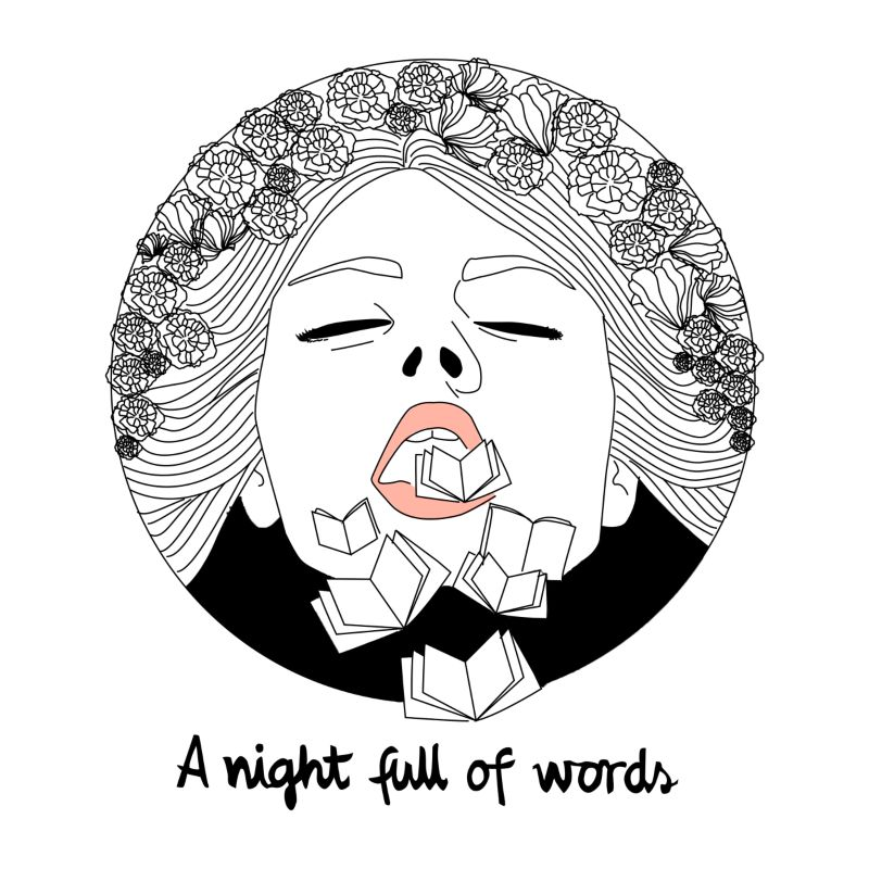 A night full of words