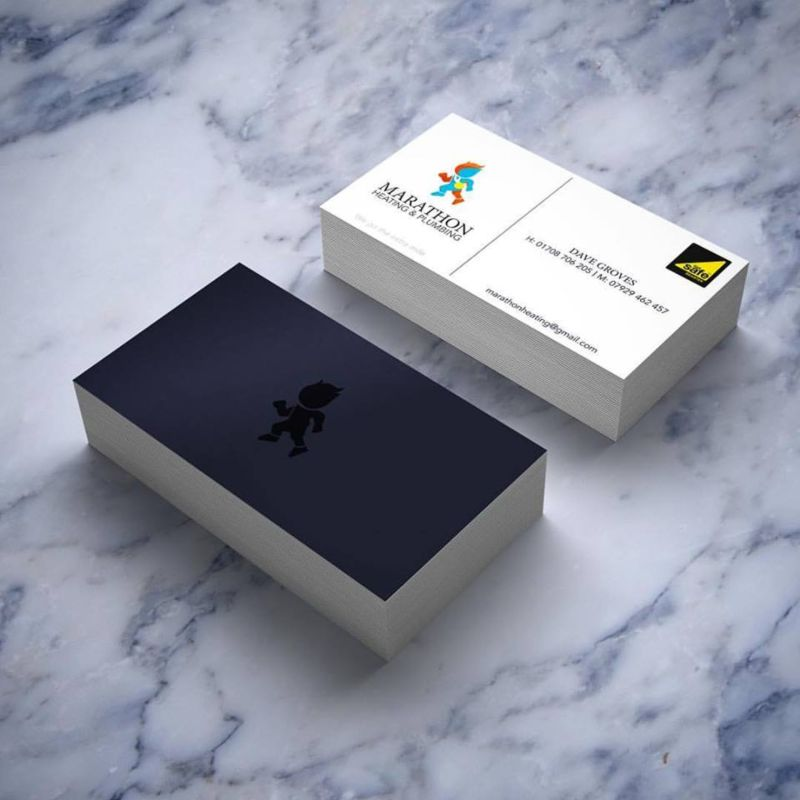 Marathon Business Card