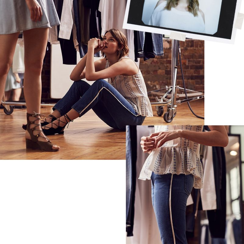 Commercial retouching: The Denim Boutique | THE OUTNET