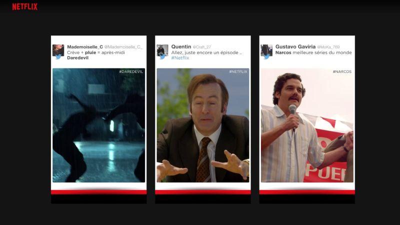 Netflix add campaign