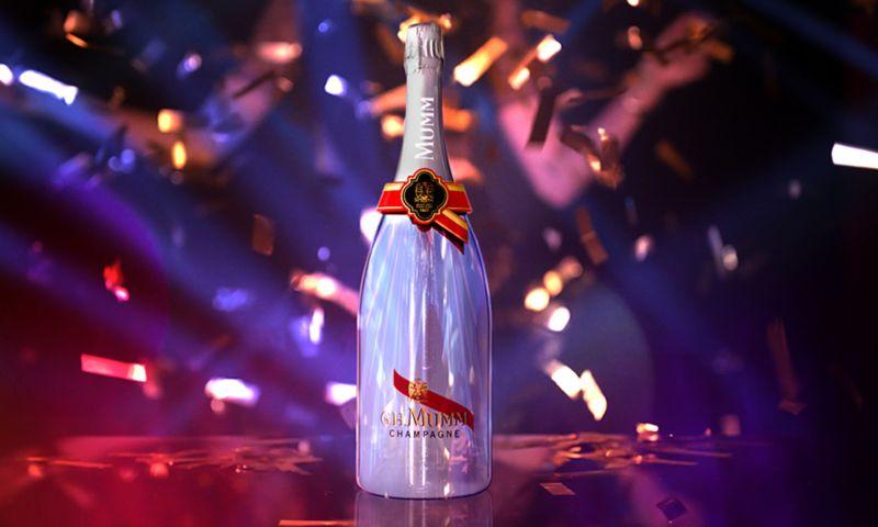 G.H. Mumm Connected Bottle