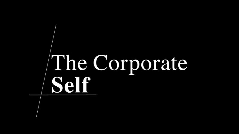 The Corporate Self