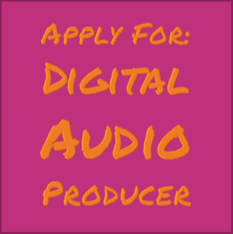 Digital Audio Producer Needed