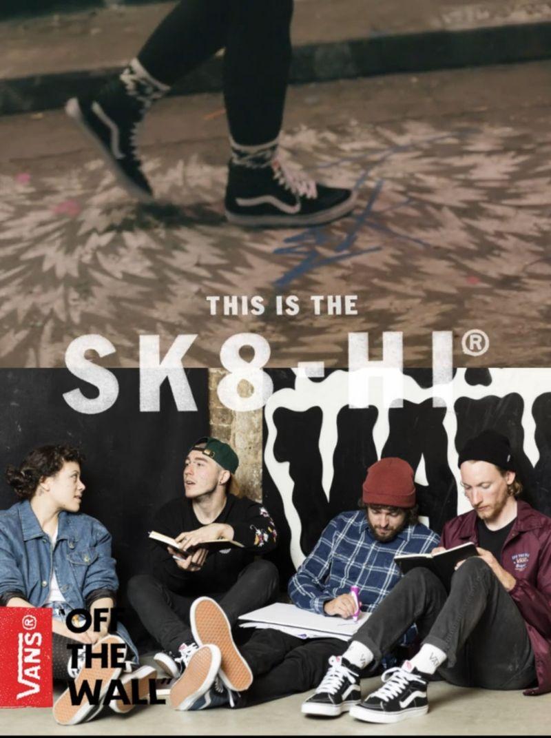 Vans Sk8 Hi - Instore