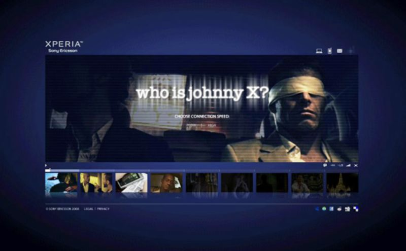 Sony Mobile:  Who is Johnny X?
