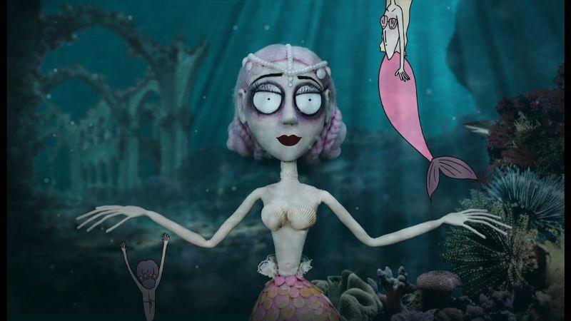 Stop Motion Mermaid
