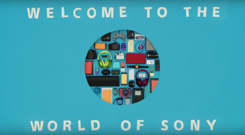 Welcome To The World Of Sony