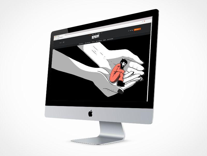 Reprieve.org.uk - Illustrated Campaign