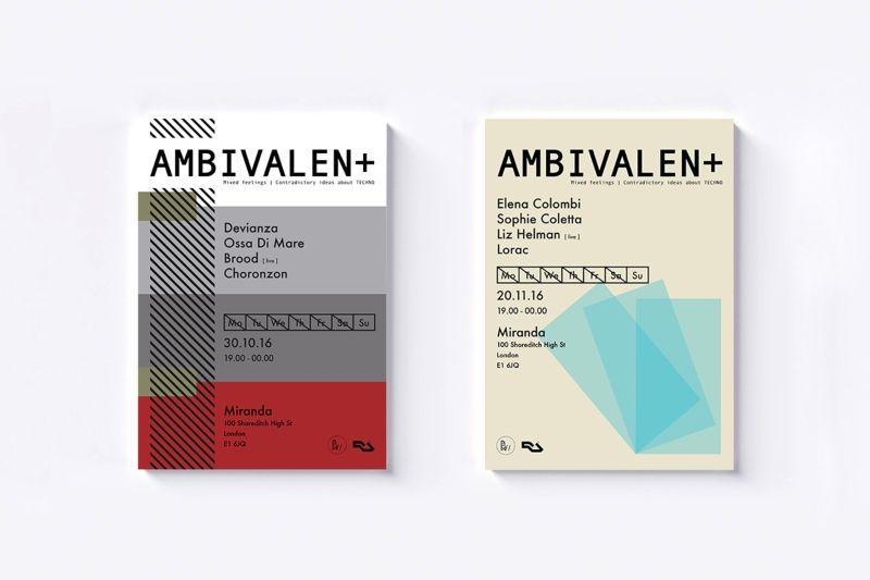 AMBIVALEN+ Brand Identity