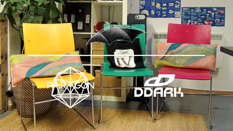 Paragon duo interviews featured artist Ddark