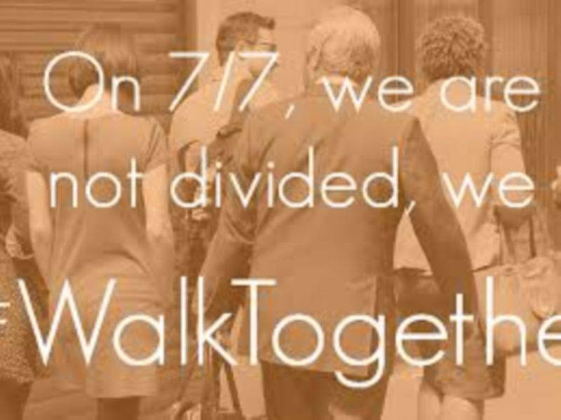 #WalkTogether