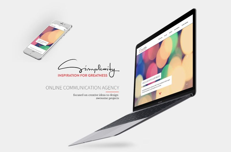 Simplexity - website and content creation