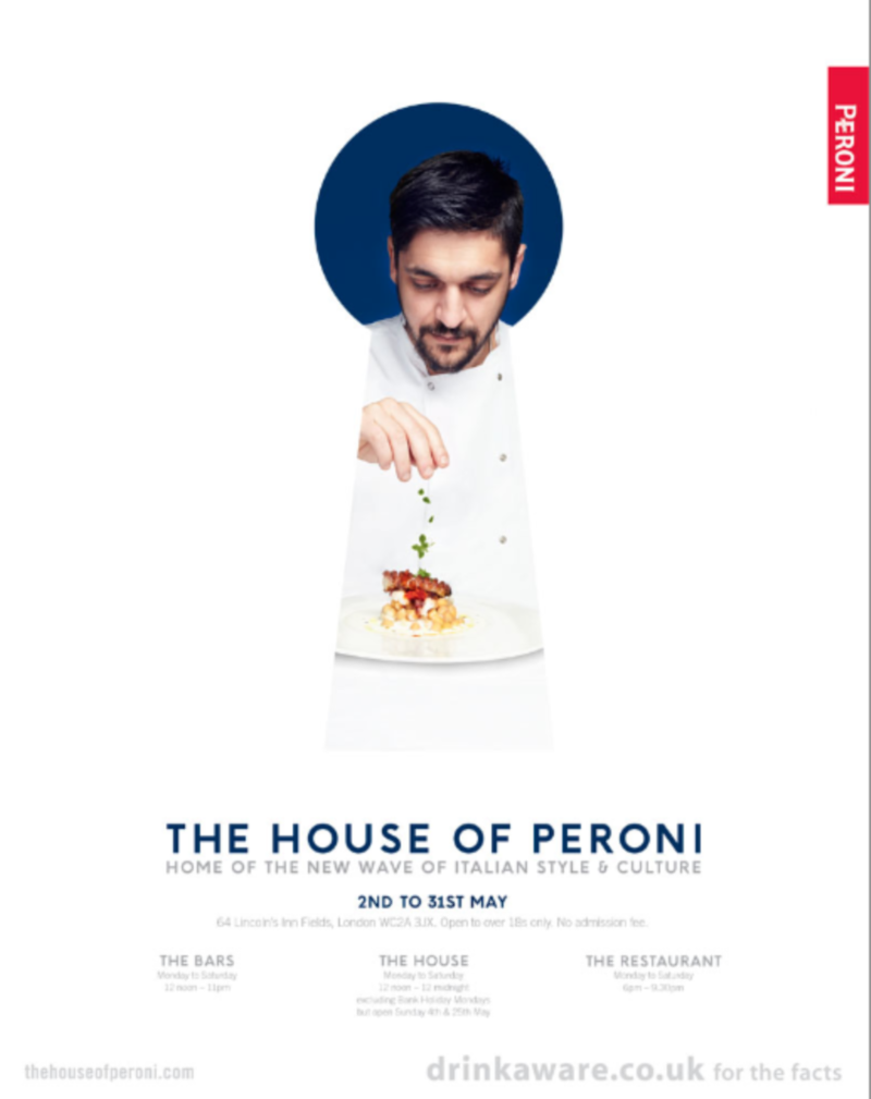House of Peroni May 2014