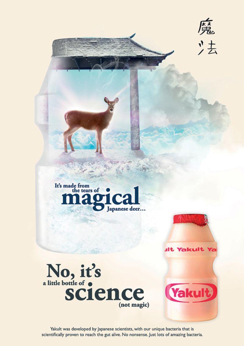 Yakult - A little bottle of Science (not magic)