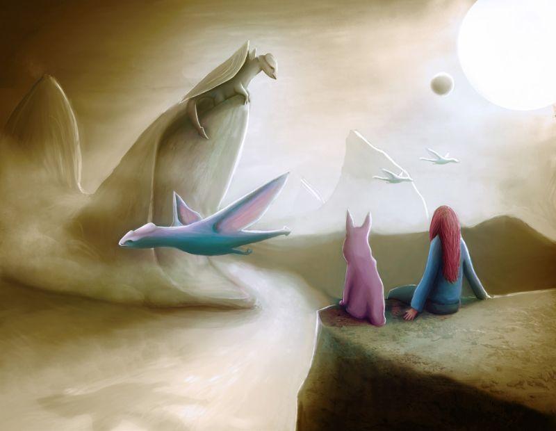 The Allure Of Fantasy Dreamscapes