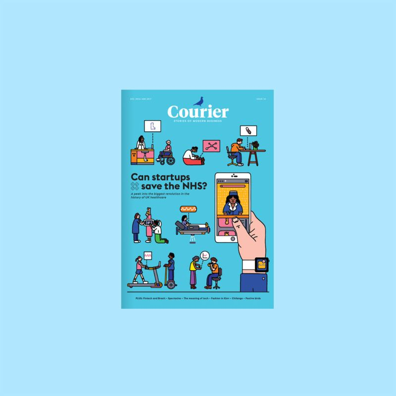 Courier Issue 14: Can startups save the NHS?