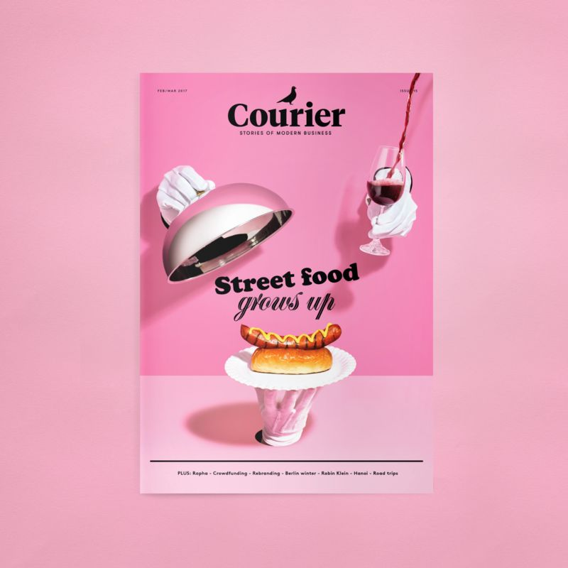 Courier 15: Street food grows up