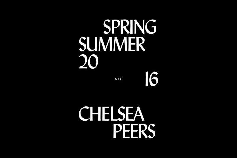 Chelsea Peers SS16 Campaign
