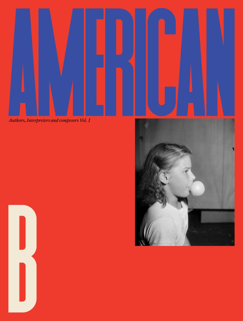 American A, B, C, D Book Covers