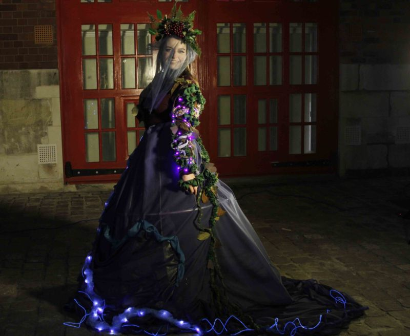 Conceptual Costumes for Durham Lumiere Event