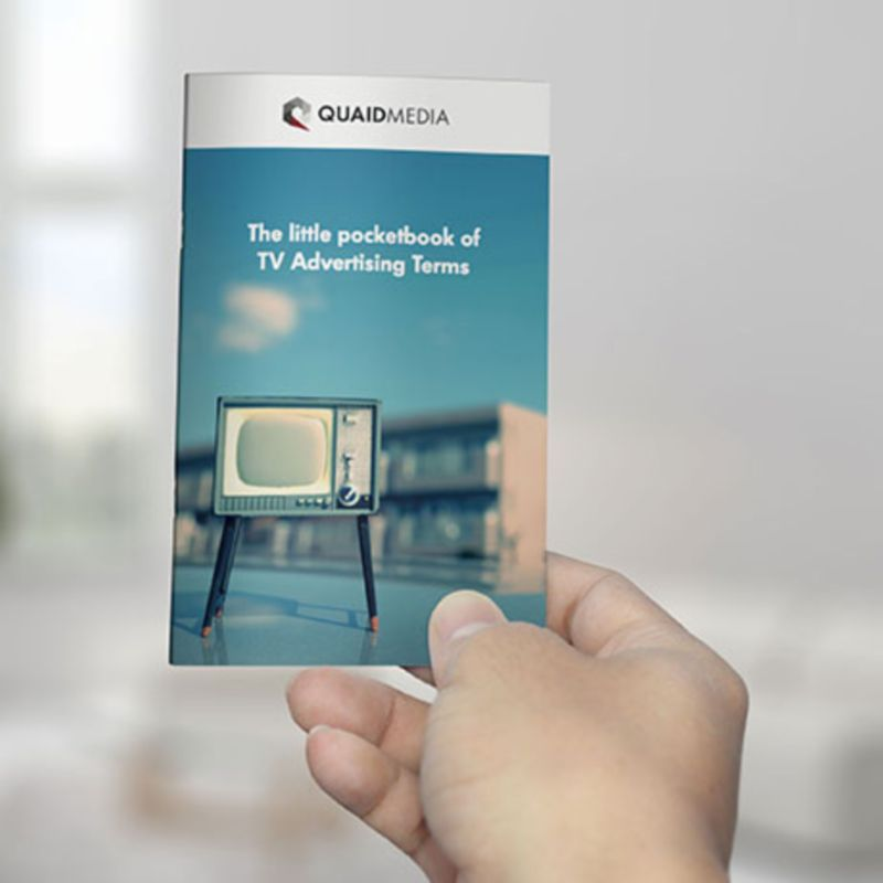 Ebook: The little pocketbook of TV advertising terms
