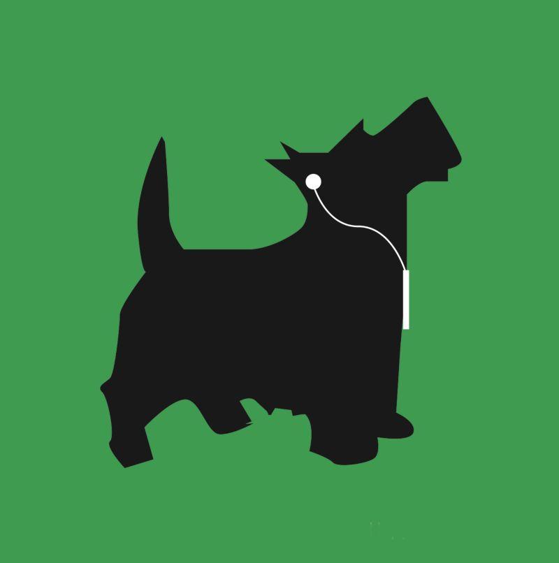 Early 2000 ipod dog