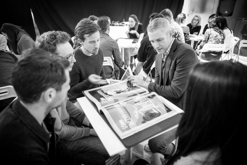 The Dots Advertising Portfolio Masterclass in partnership with Shutterstock @ M&C Saatchi, London