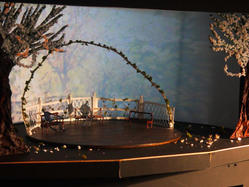 Cherry Orchard Set Design