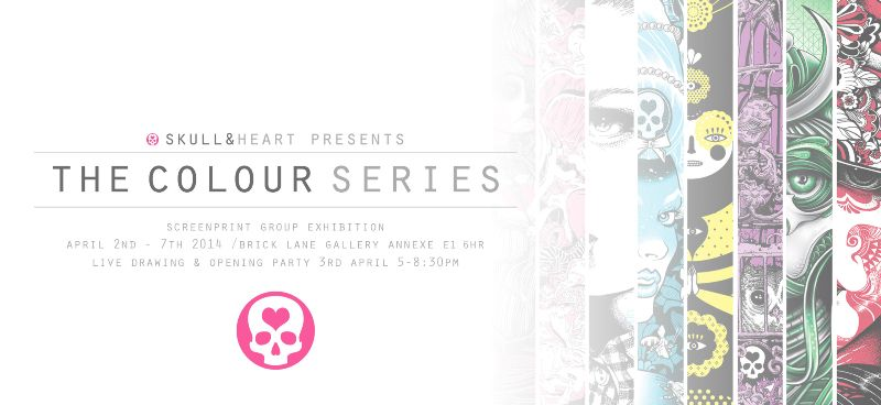 CURATED EVENT: THE COLOUR SERIES EXHIBITION