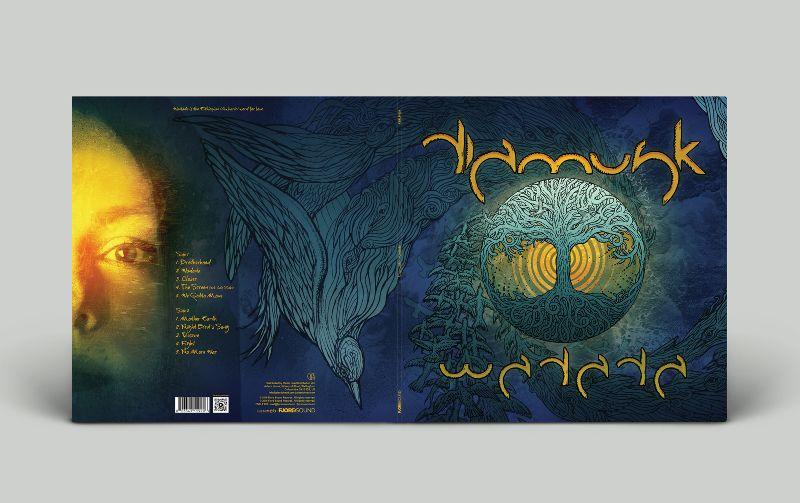 Diamusk - Wadada LP Cover Art & Design