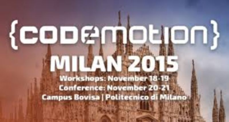 Codemotion Milan 2015