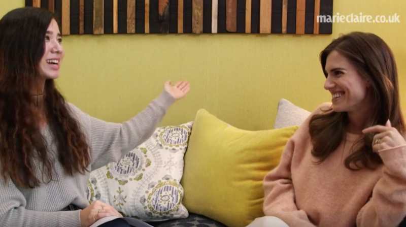 Allison Williams Facebook Live interview for HBO's Girls series in association with NOWTV