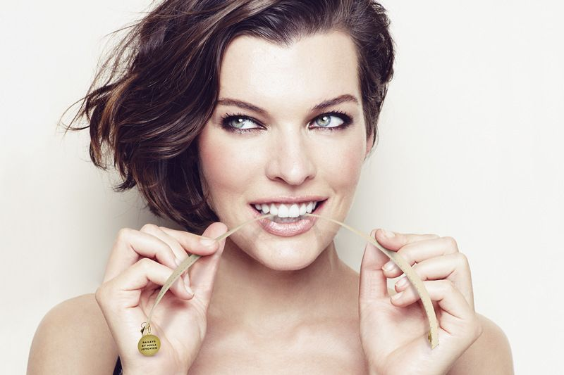 Launch of Baileys by Milla Jovovich in Poland 2013