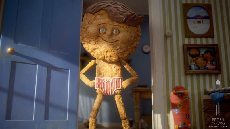 """Cravendale """"Barry The Biscuit Boy"""" Commercial"""