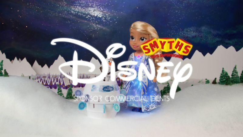 "Smyths Toy Superstore ""Frozen"" Sponsor Ident"