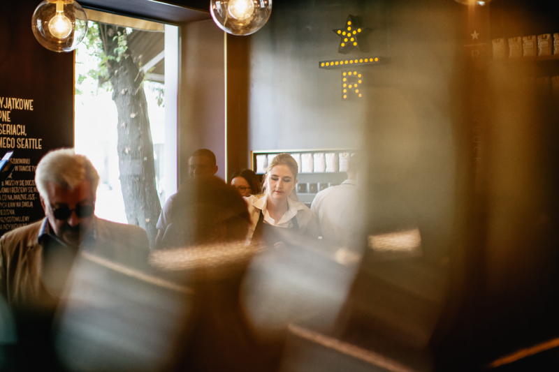 Starbucks Reserve opening in Warsaw 2015
