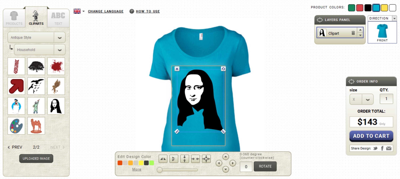 Design your t shirt software - T Shirt Design Software Developer Version