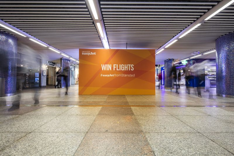 easyJet and Stansted Airport activation