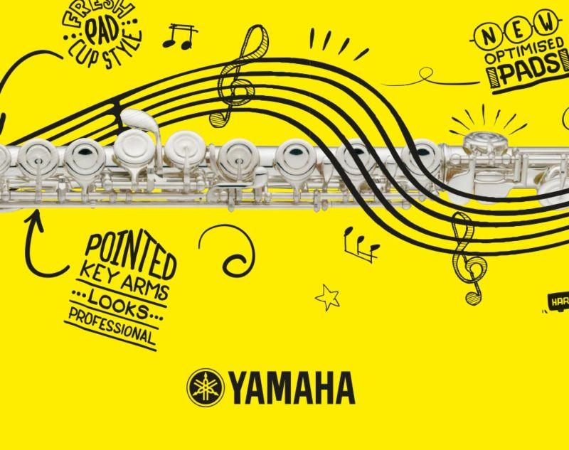 Yamaha Student Flute Launch