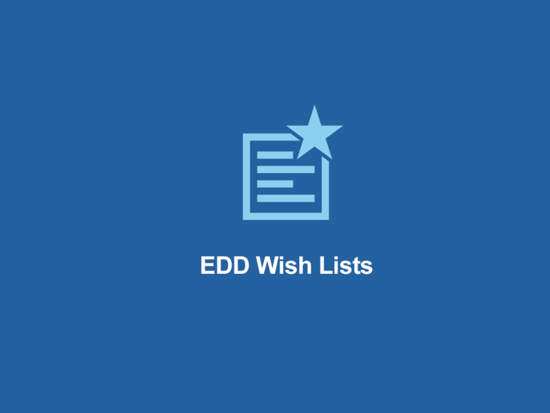 Wish Lists for Easy Digital Downloads