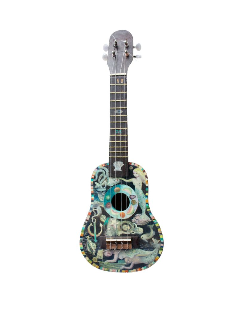 Art on a Ukulele