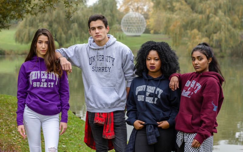 How to Style the University of Surrey Hoodie
