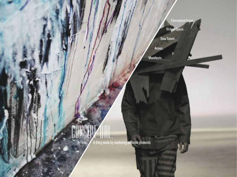ConceptUAL Website -Art Director