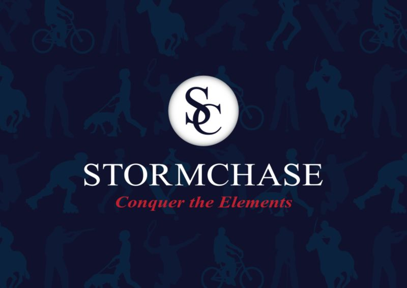 Brand Identity Formation & Packaging Design | Online + Product | STORMCHASE
